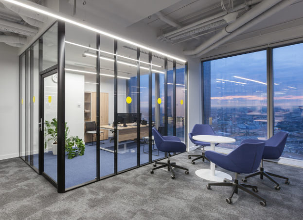 State-of-the-art office in Moscow City